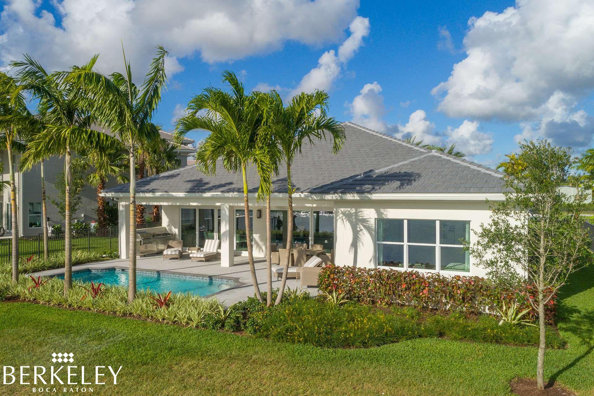 Luxury Homes In Boca Raton Berkeley In Boca Raton Florida Real Estate Gl Homes Florida Real Estate Florida Homes For Sale Malibu Homes
