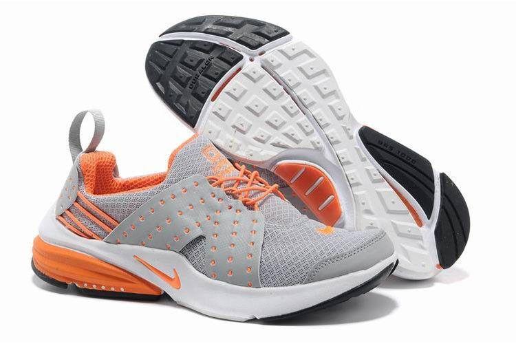 outlet on sale super cute buying now Nike Air Presto V6 Frauen Schuhe Lichtgrau Orange | Nike Air ...