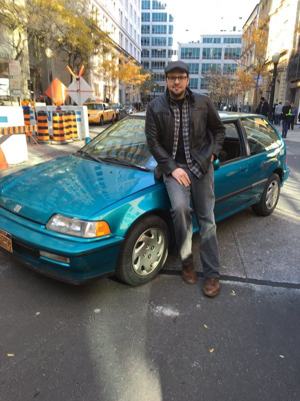 Austin Basis ‏@AustinBasis Nov 10  Me & #BabyBlue ...saying goodbye to JT's picture car #BATB @cwbatb