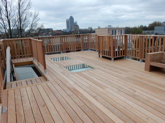 Vaak Houten dakterras vloer | Retreat on the Patio in 2019 - Rooftop FL65