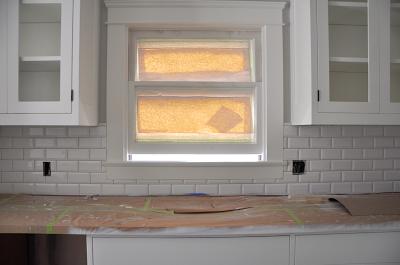 Renovation Week 29 Kitchen Update Sticky Bee Subway Tile Beveled Subway Tile Beveled Subway Tile Backsplash