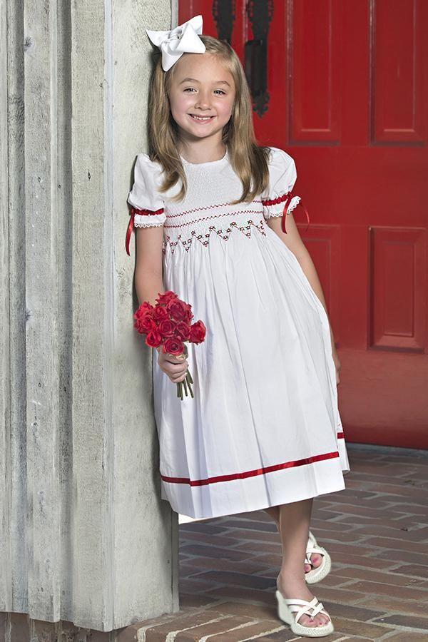 f1703b4e SALE! Only a few Smocked Christmas dresses by Strasburg Children ...