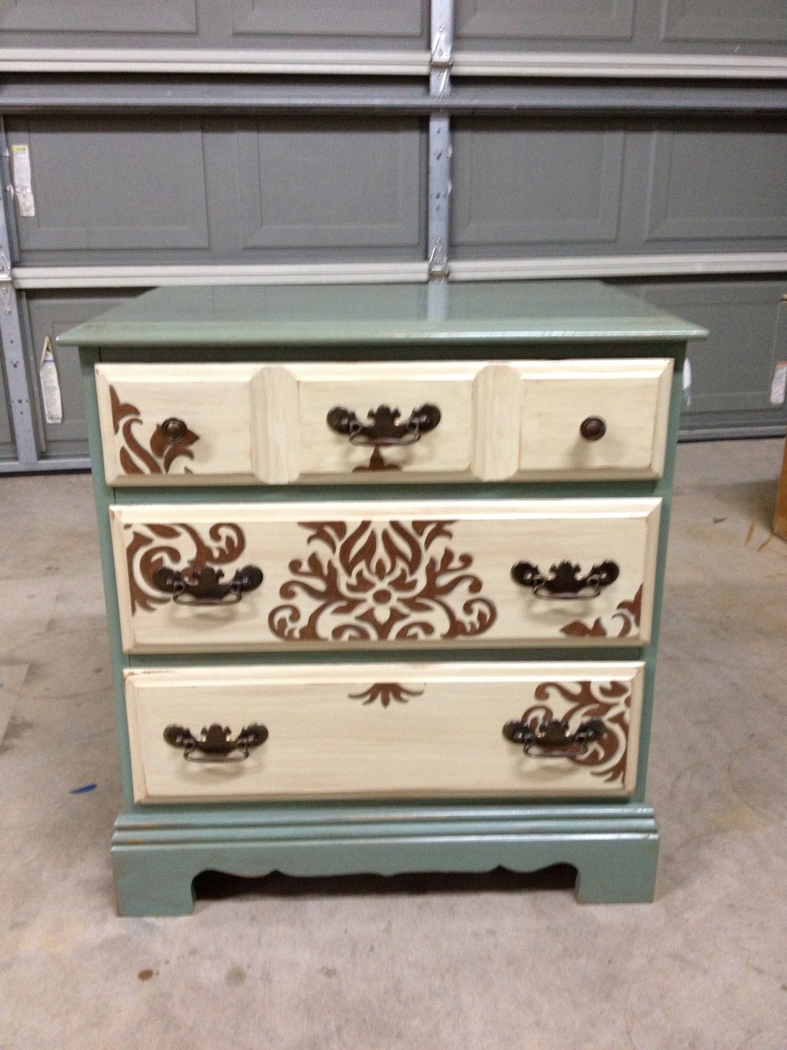 Repurposed nightstand I just finished