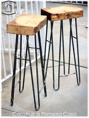 Hairpin Legs Pes Treliça. StuhlEinrichtungBarhockerMetallInspirierendDiy  Und SelbermachenIndustriemöbelIndustrielles DesignBaum Möbel