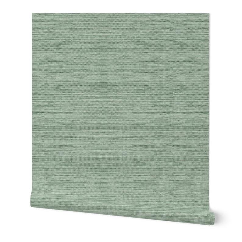 Green Grasscloth Wallpaper Grasscloth In Coastal Green By Etsy Grasscloth Wallpaper Grasscloth Coastal Wallpaper
