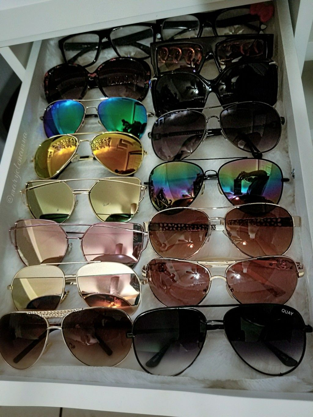 Organized My Sunglasses In My Alex Drawer Alexdrawer Ikea Sunglasses Organized Sunglassstorage Storage V Sunglasses Storage Alex Drawer Storage Drawers