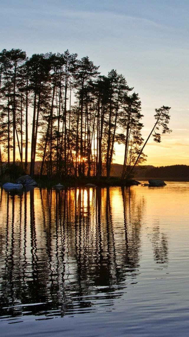 Midnight sun - Kiruna, Sweden