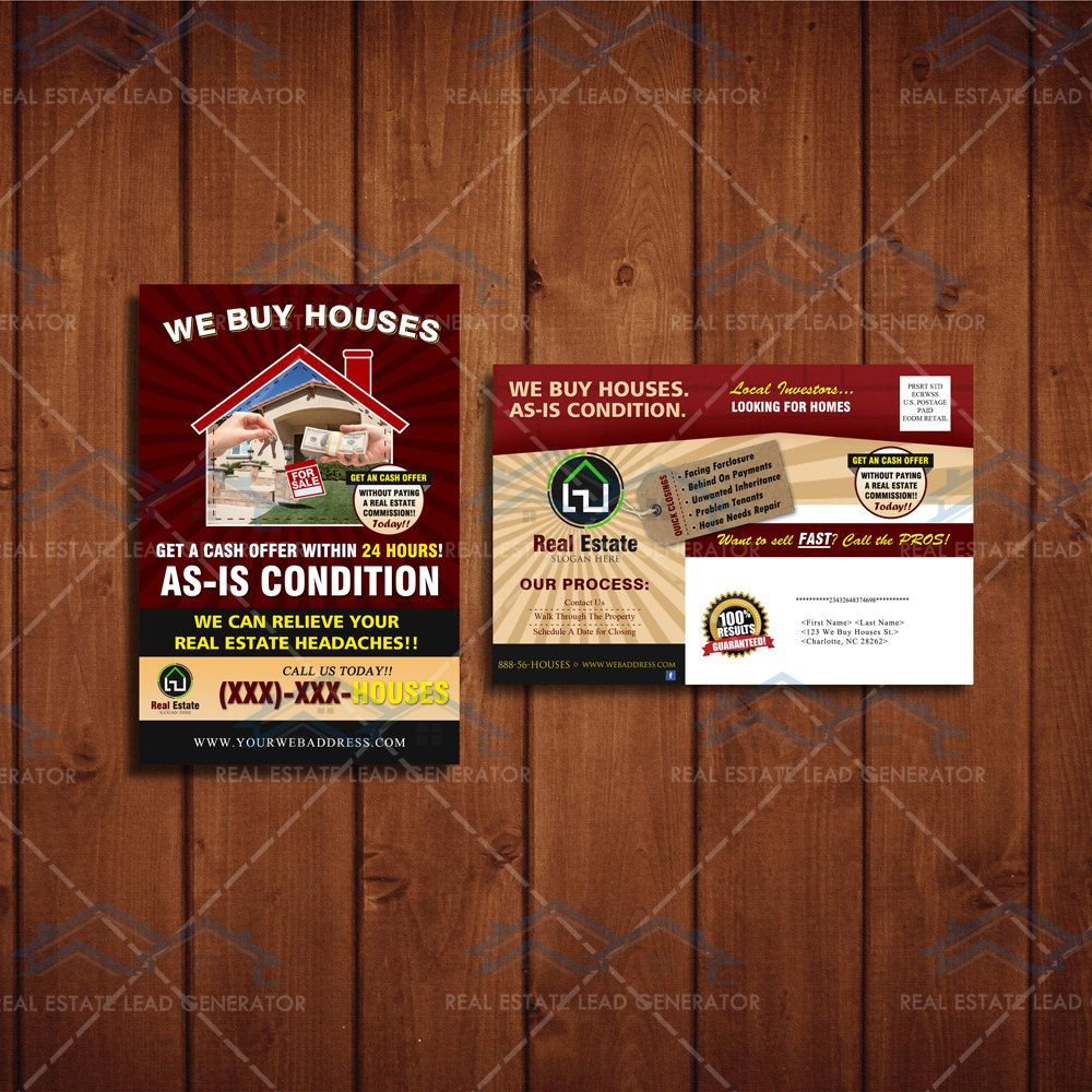 We Buy Houses Direct Mailer Real Estate Investors Postcard Template We Buy Housus Marketing We Buy Houses Home Buying How To Clean Carpet
