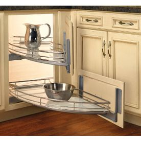 Gentil Rev A Shelf 2 Tier Metal Pull Out Cabinet Basket. Have To