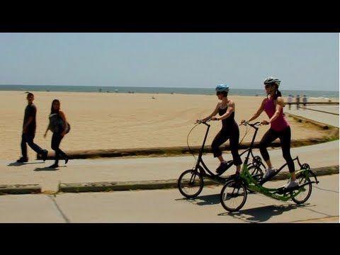 Elliptigo Outdoor Elliptical Bike Review Youtube In 2020 Bike