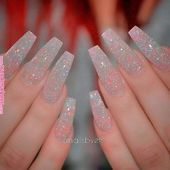 35 Fantastic Designs For Coffin Nails You Must Try | Nail designs | Coffin shape