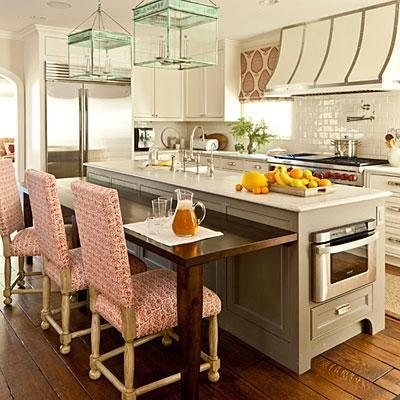 The Updated Traditional Kitchen Kitchen Island Design Traditional Kitchen Home Kitchens