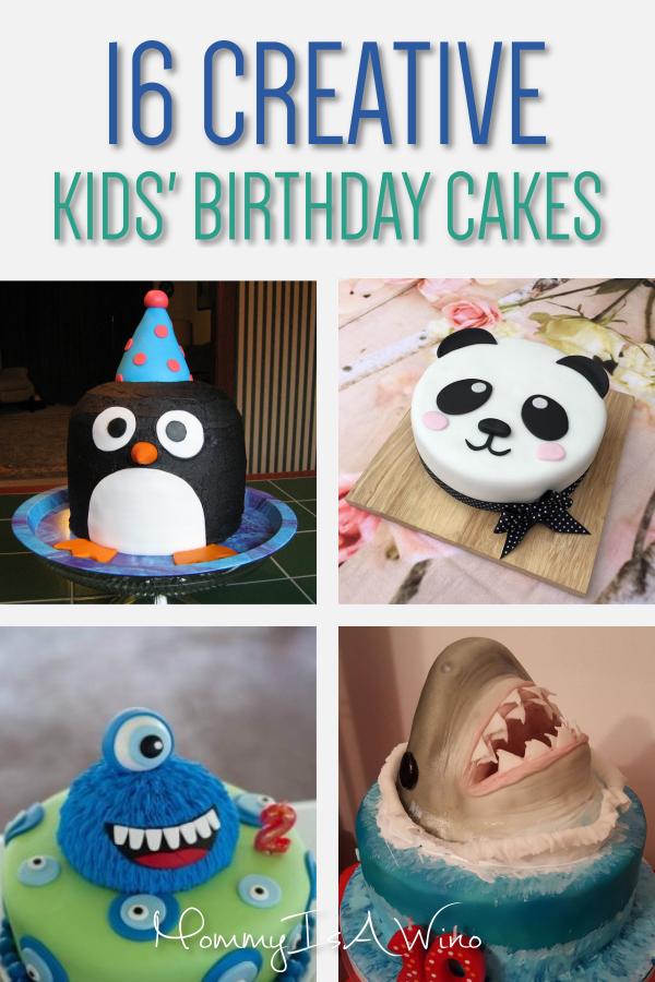 16 Brilliant Birthday Cakes For Kids Desserts Pinterest Cake