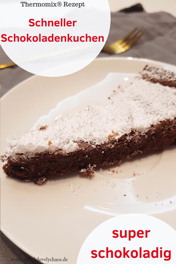 Blitzschneller Schokoladenkuchen Simplylovelychaos Blog