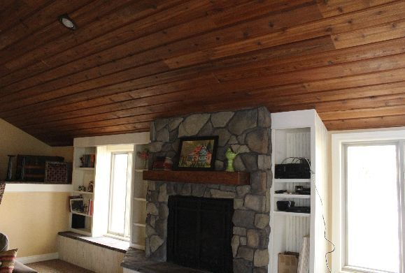 1x8 Channel Rustic Cedar With 1x4 Fir Beadboard Cedar Siding Rustic Cedar