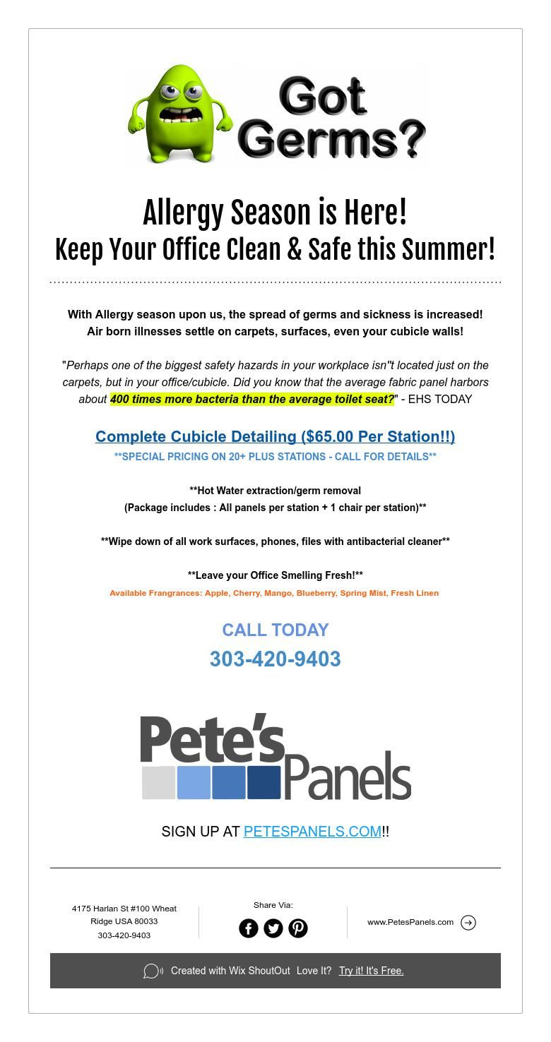 Allergy Season Is Here Keep Your Office Clean  Safe This Summer