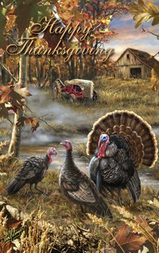 DG-6554 TR Happy Thanksgiving Turkey Ranch #happythanksgiving