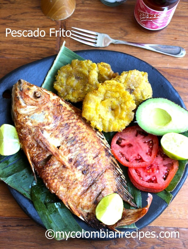 Arte Culinario Garifuna Pescado Frito Colombiano Colombian Style Fried Whole Fish