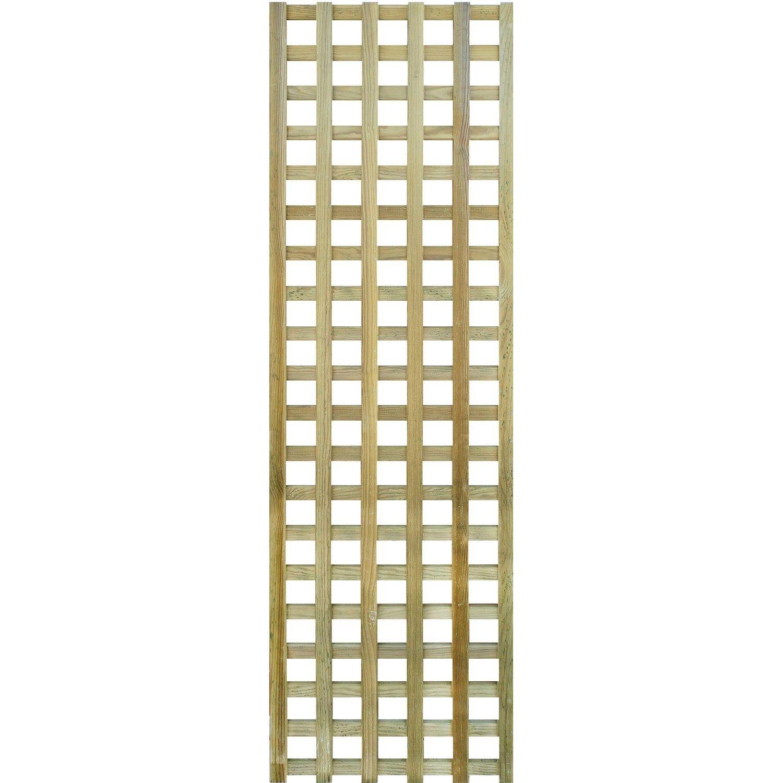 Treillis Bois Pas Cher panneau treillis bois ajouré sevilla, l.45 x h.180 cm