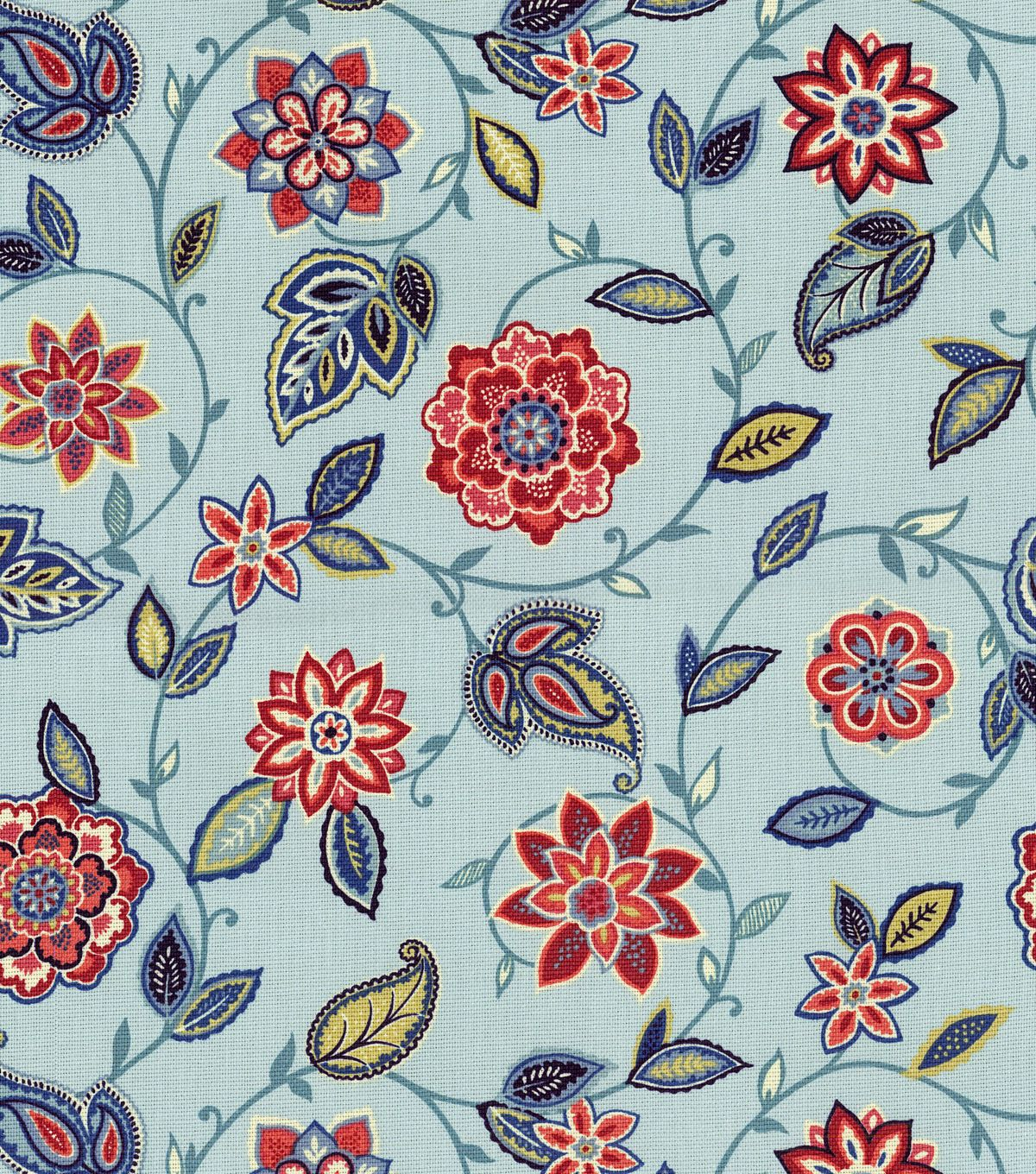 Waverly Home Decor Print Fabric Lively Trail Heritage Hi Res Screen As