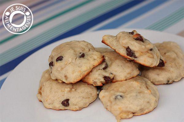 Banana Chocolate Chip Cookies The Viet Vegan Recipe Banana Chocolate Chip Cookies Chocolate Chip Cookies Banana Chocolate Chip