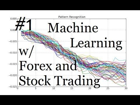 Machine Learning And Pattern Recognition For Algorithmic Forex And
