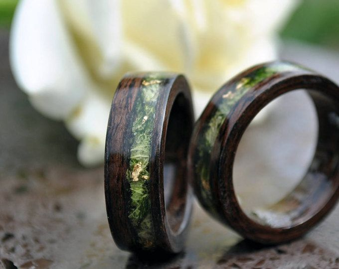 Ring Wood Rings For Men 5 Year Anniversary Wooden Engagement Women