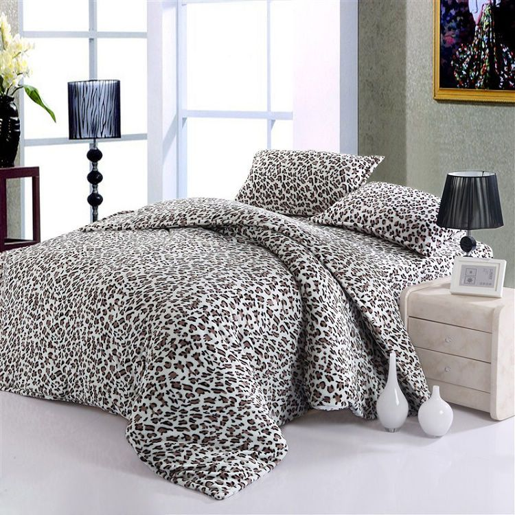 Leopard Print Bedding Www Bilderbeste Com
