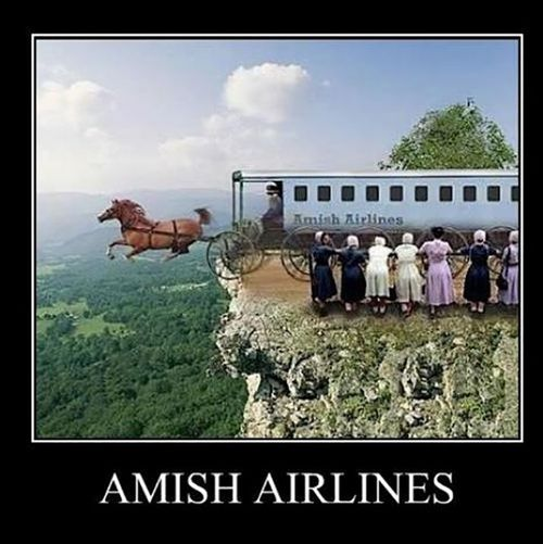 Image result for amish airlines