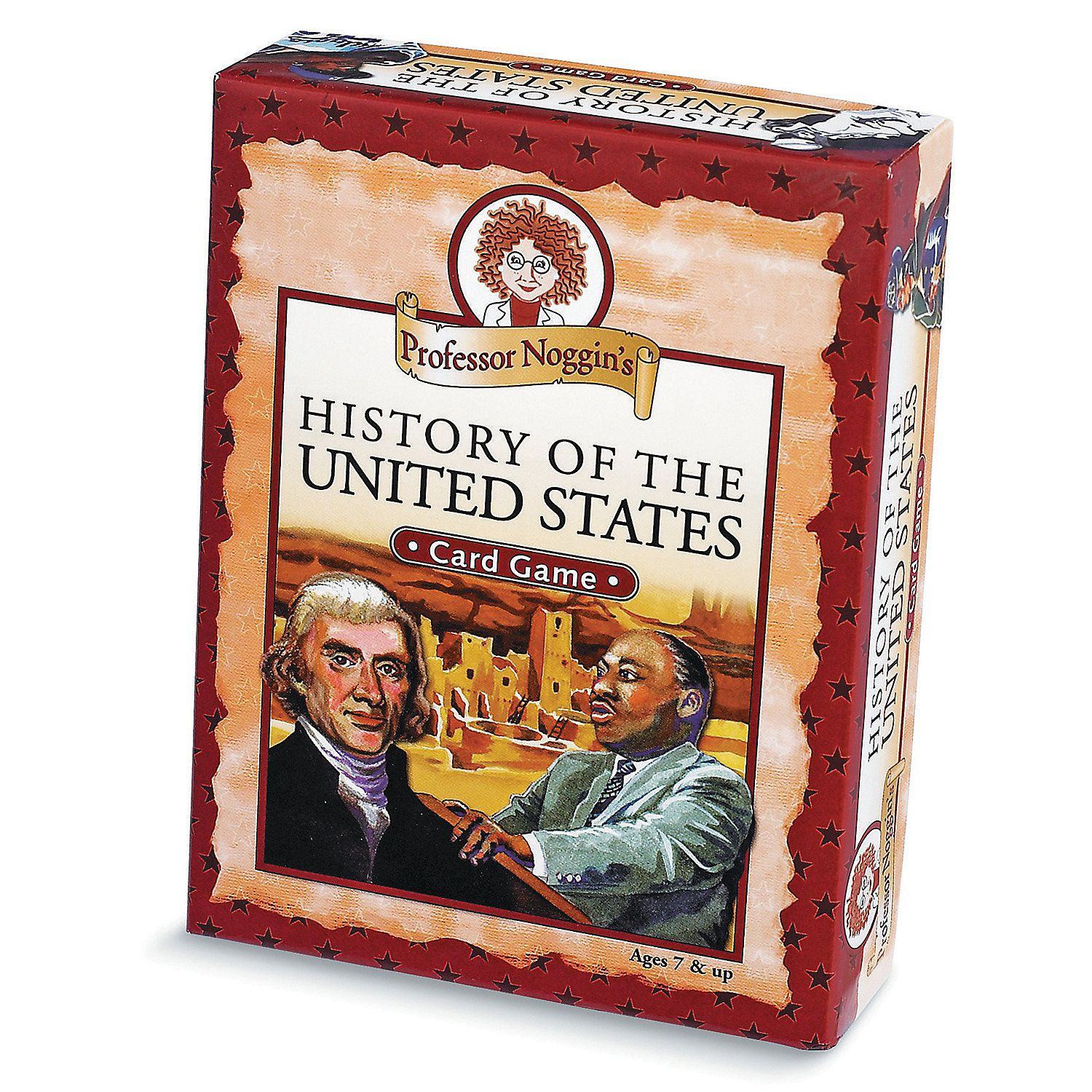 Professor Noggin S History Of The United States Card Game
