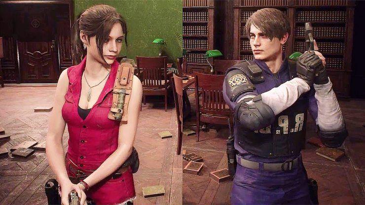 Capcom Divulga Novos Trakes De Leon E Claire Em Resident Evil 2
