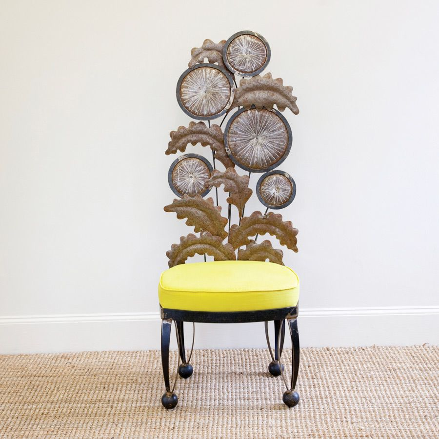Dandelion chair ‹ Sally Bridge Metal