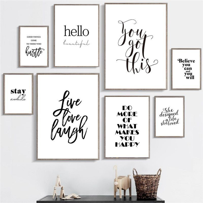 Family Sayings Poster 8 x 10 Nordic Wall Art Quote Home Decor It/'s So Good to Be Home Print Bedroom Quote Decor Unframed Inspiration Apartment D/écor