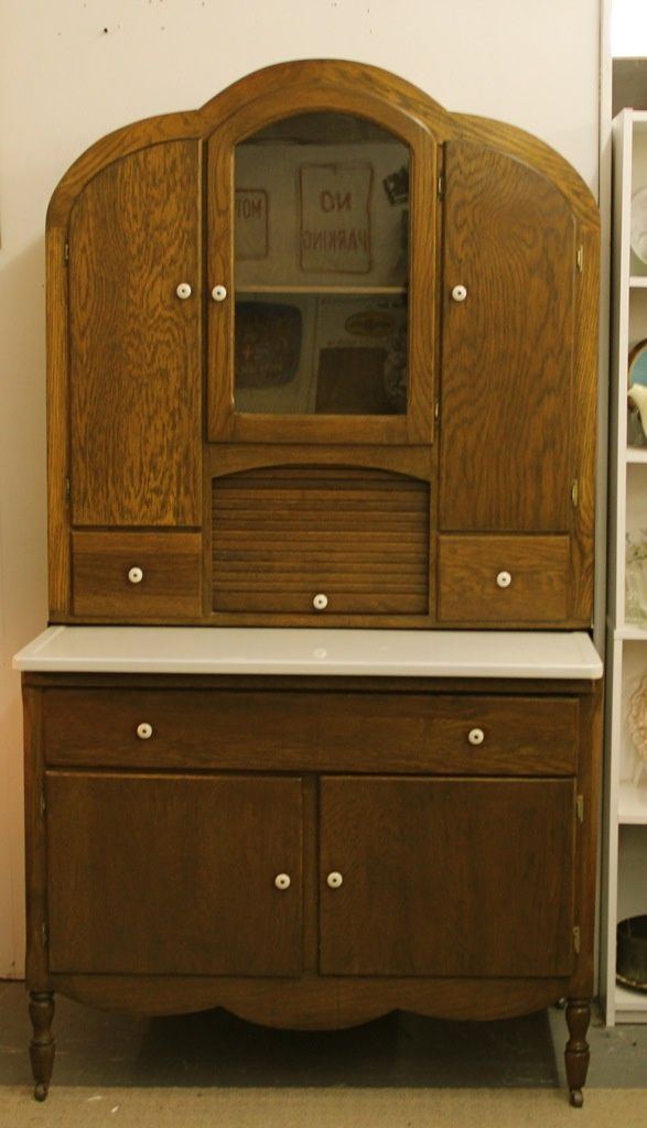 Oak Deco Kitchen Cabinet   Art deco kitchen cabinet, Art ...