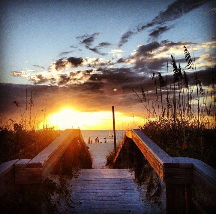 Great Sunset Shot On St Pete Beach, Florida. Come Visit U