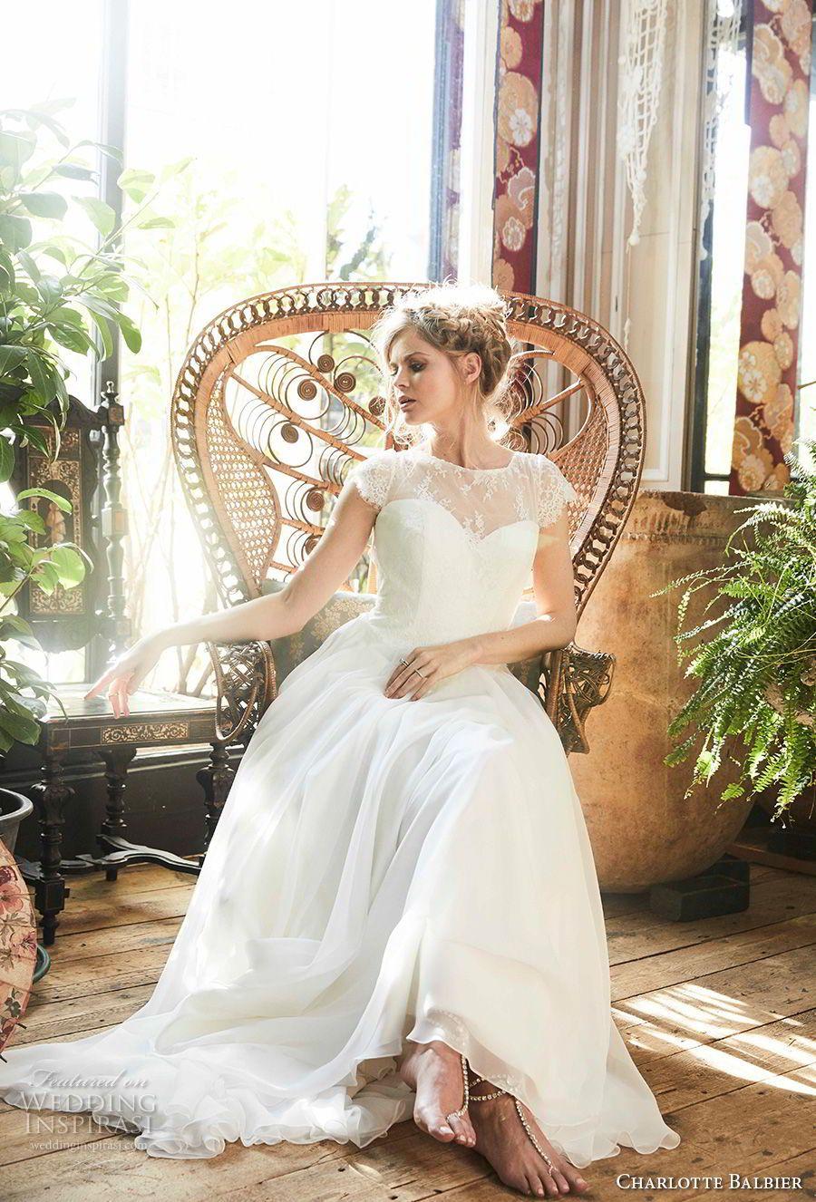 "Charlotte Balbier 2018 Wedding Dresses — ""Bohemian Blush"" Bridal ..."