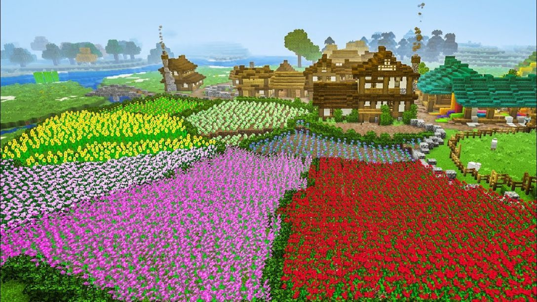 Garden Planning Minecraft Flower Ideas Landscaping Farm Houses