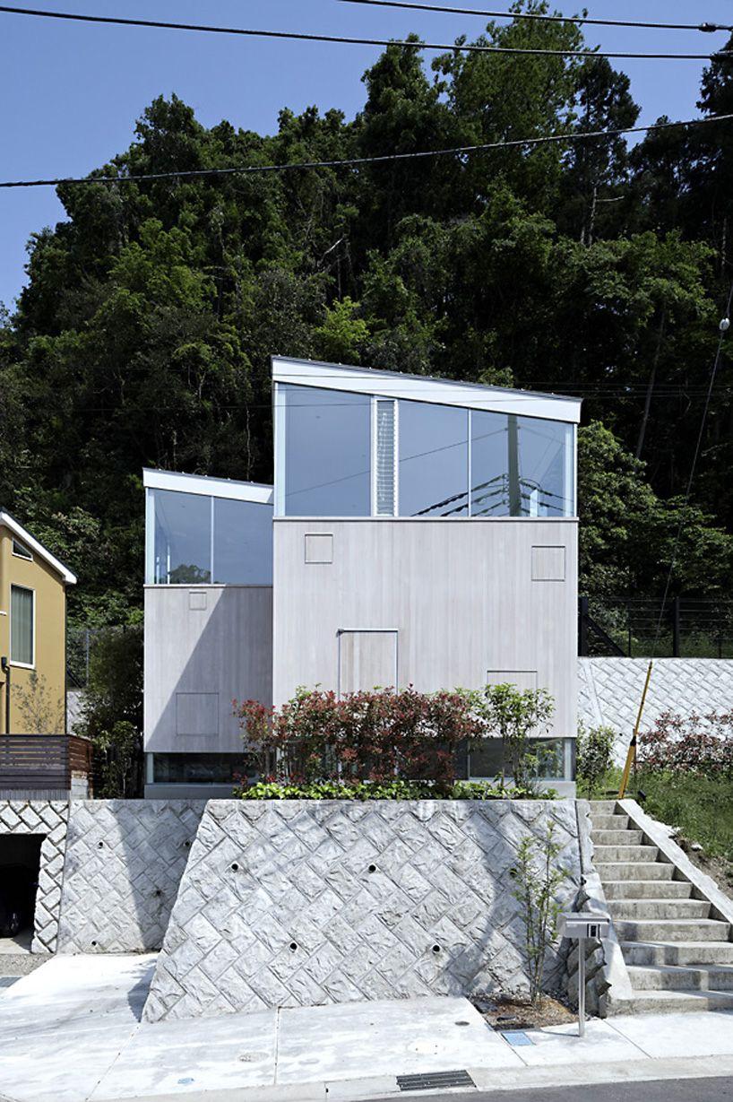 house forest by a.l.x. junichi sampei designboom