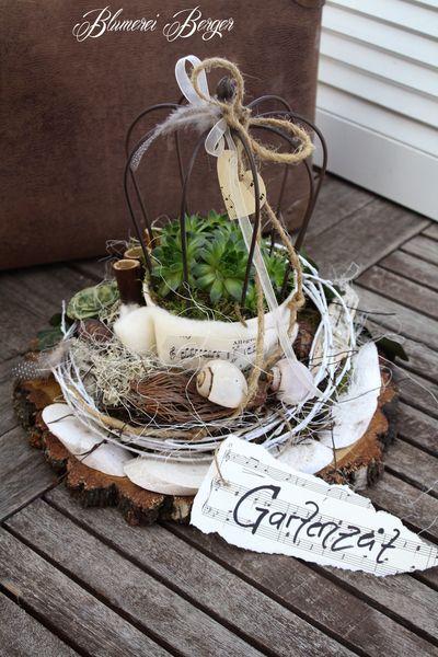 :::: Gartenliebe Krönchen :::: von :::::::: Blumerei Berger :::::::: auf DaWanda.com #flowerbeds
