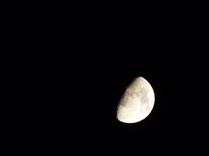 Un momento perfecto para fotografiar la luna