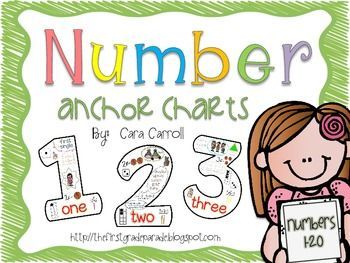 Number Names Worksheets number chart for kindergarten : 1000+ images about Numbers: 123 on Pinterest | Anchor charts ...