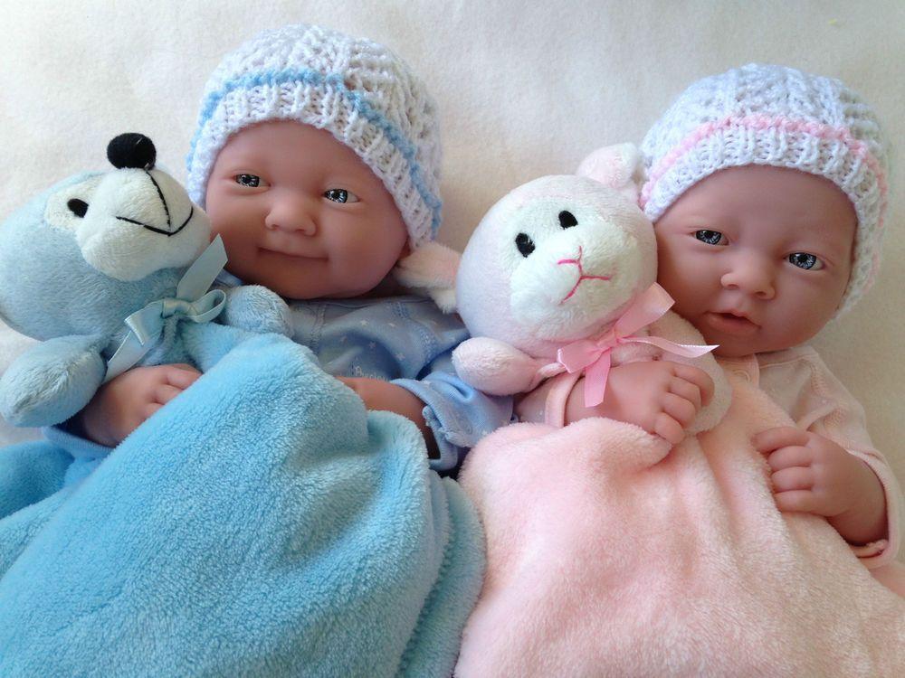 Berenguer la newborn twin baby dolls many extras anatomically correct