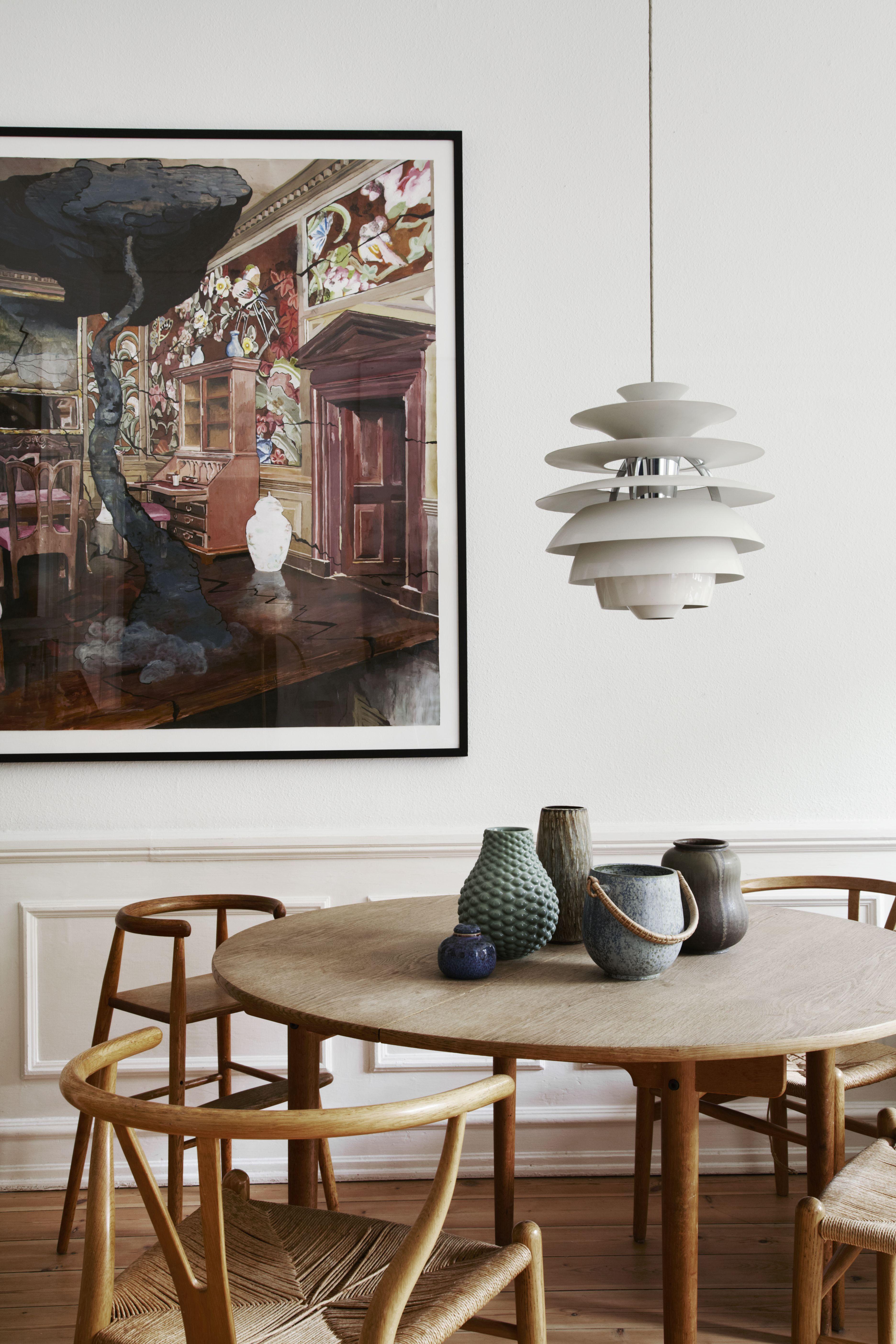 A Scandinavian Design Collector S Playful Classic Contemporary Home In Copenhagen Scandinavian Dining Room Dining Room Design Vintage Home Decor