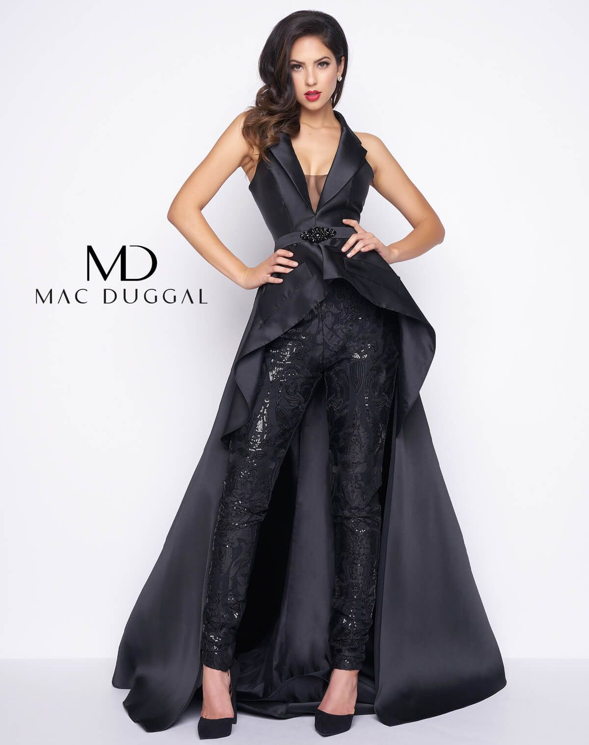 Ivory Zuhair Murad Jumpsuit Prom Dresses With Removable Skirt Red Carpet Strapless Lace Applique Corset Formal Evening Gowns Street Price Prom Dresses