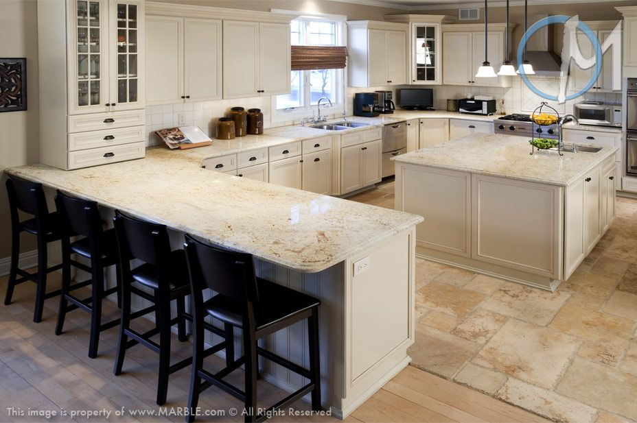 Ordinaire Colonial Cream Granite   Semi Consistent   Like This One Quite A Bit In  Picture.