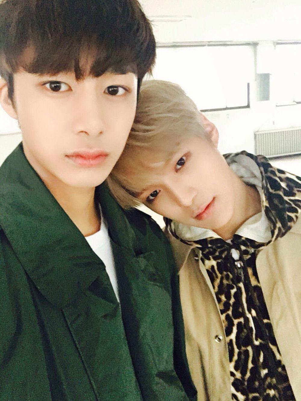 Monsta X // Hyungwon and Minhyuk