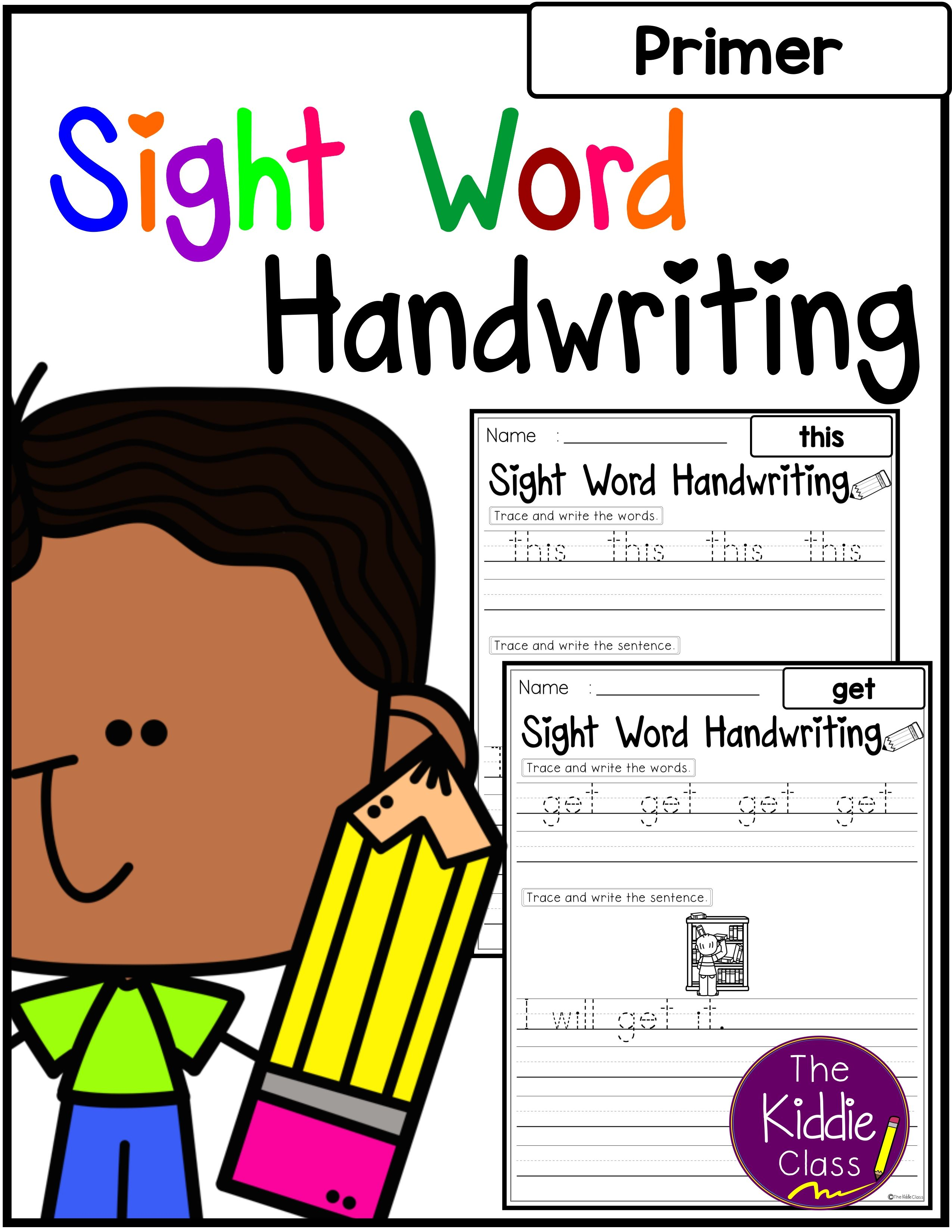 Sight Words Handwriting Primer
