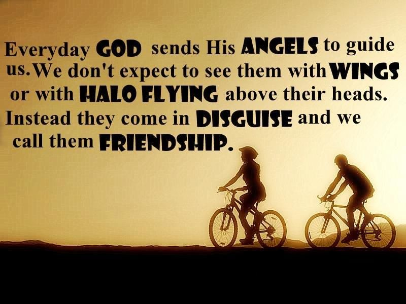 God Sends Us Angels Quotes I Believe There Are Angels Among Us Fascinating Quotes About Friendship By Famous Authors