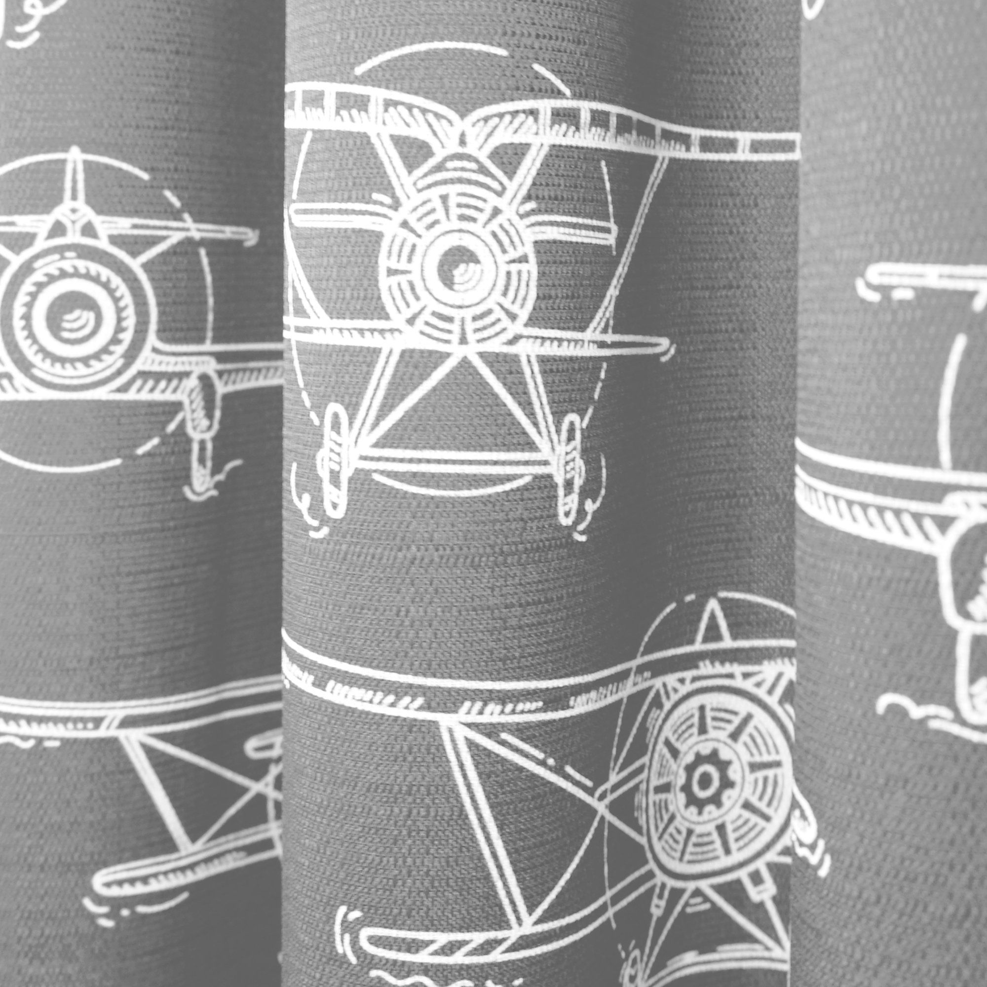 e5f64e1cf4b2ee2c7a131e53277f565c - Better Homes And Gardens Airplanes Curtain Panel