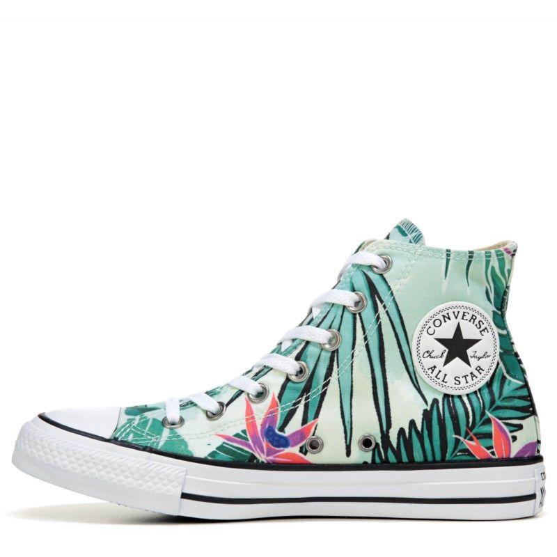 1520f74e396e Converse Chuck Taylor All Star Print High Top Sneakers (Fiberglass Menta)